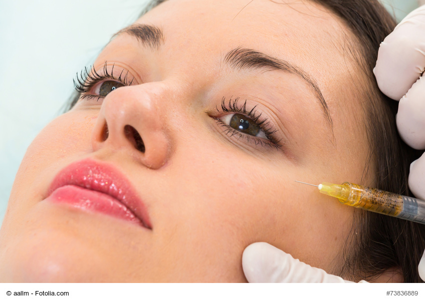 Facial fillers for around the eyes